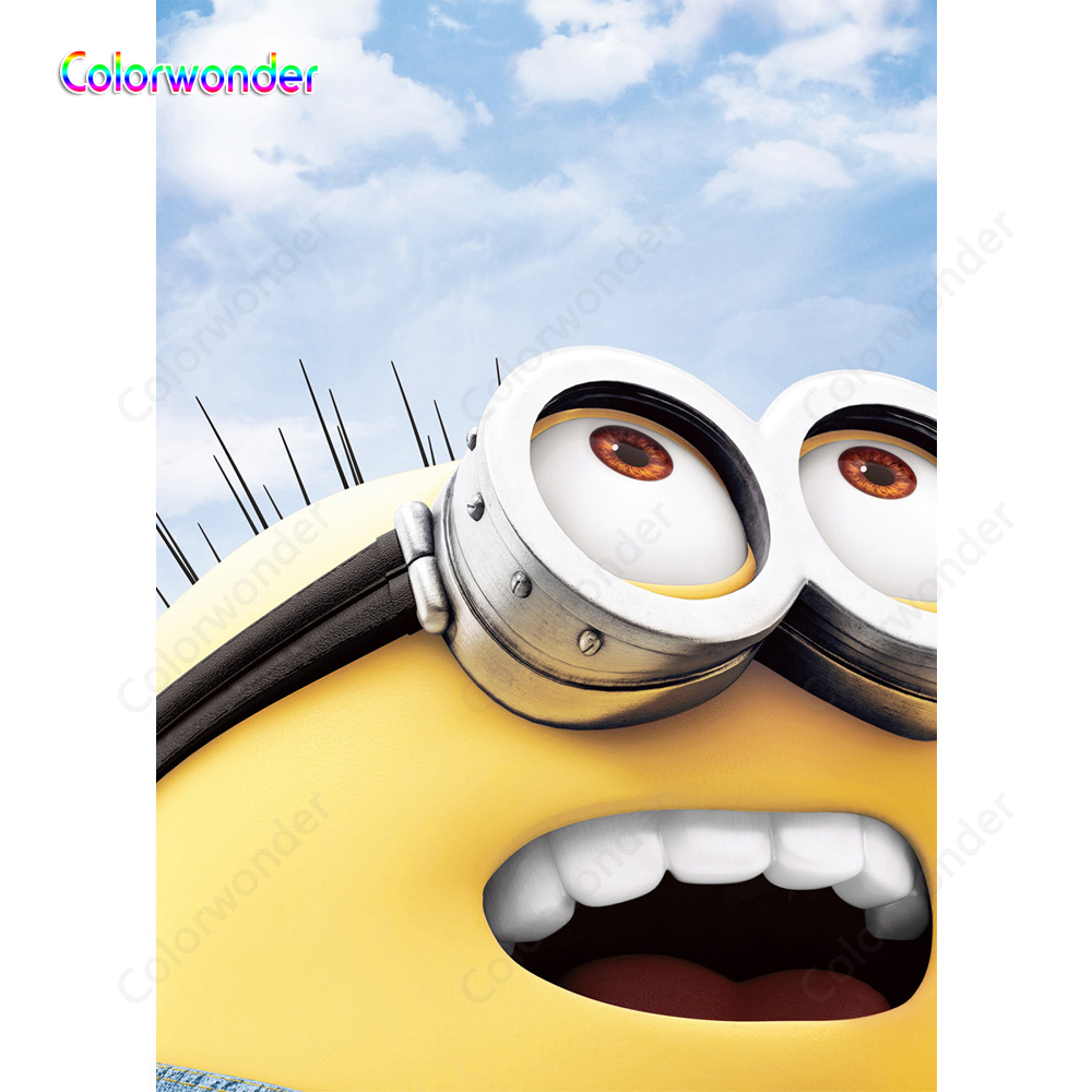 Cool Smile Minions Backdrop Pegman Photography Background Themed Party Funny Birthday Cards Online Unhofree Goldxyz