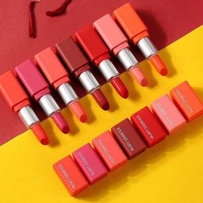 7 stücke neue wasserdichte make-up flüssigkeit lippenstift