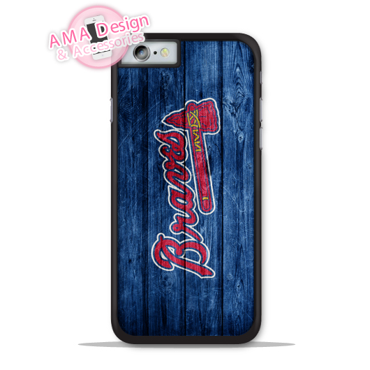 Atlanta Braves Baseball Phone Cover Case For Apple iPhone X 8 7 6 6s Plus 5 5s SE 5c 4 4s For iPod Touch