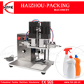 HZPK полуавтоматическая настольная электрическая и воздушная пластиковая стеклянная утенка с крышкой для винта  укупорочный стол  коммерчес...