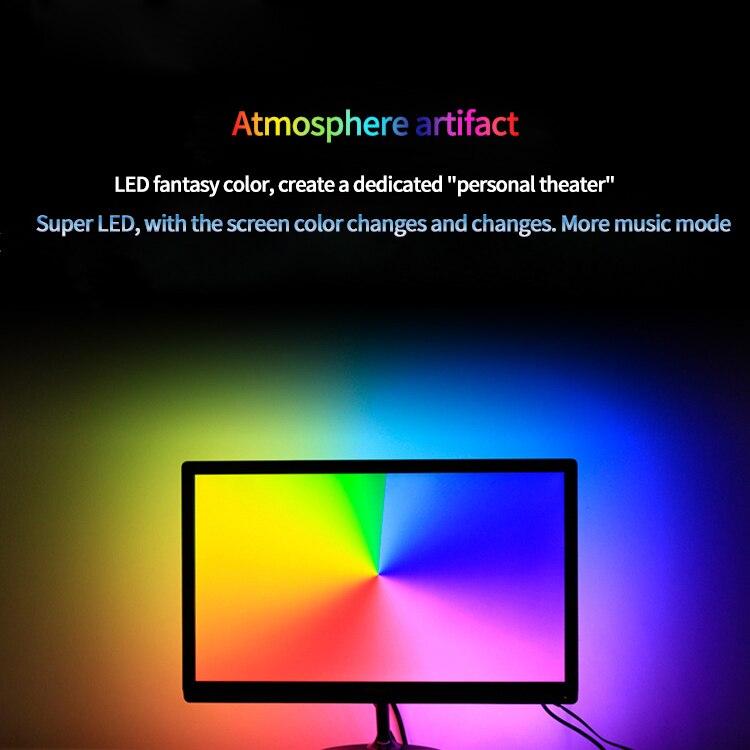 En gros USB alimenté LED lumières TV fond éclairage HD LCD Ambilight affichage synchronisation Science expérience bricolage