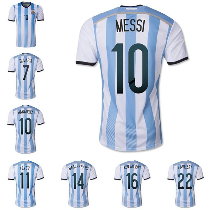 argentina soccer jersey 2014 world cup argentina home football kit shirtropa .