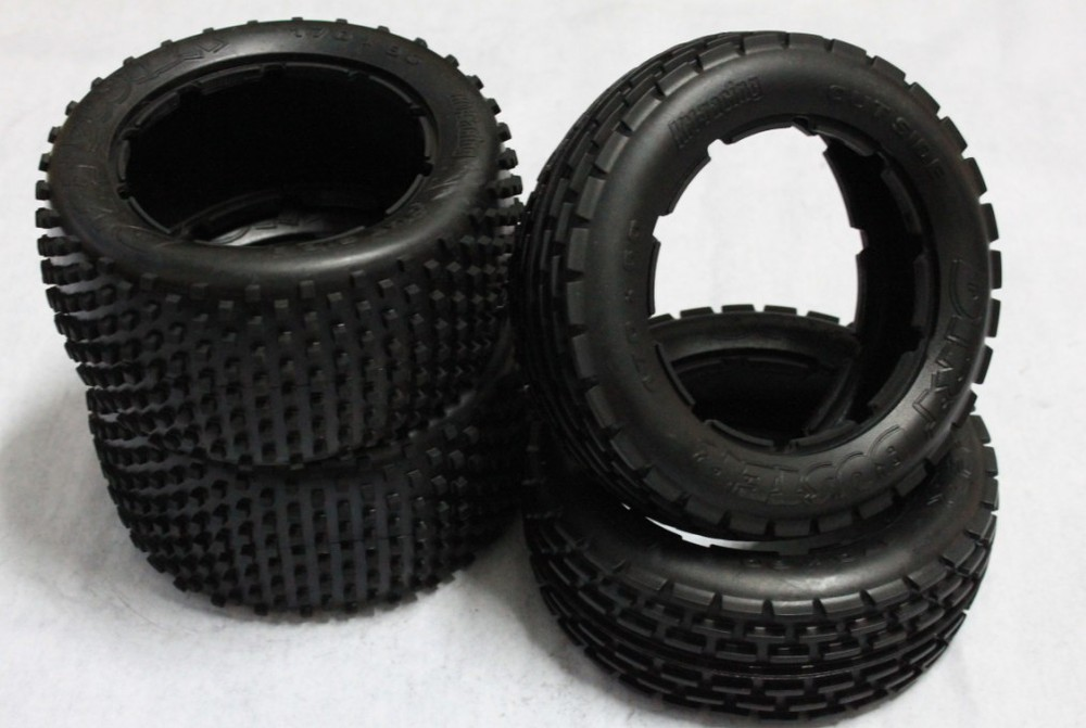 baja 5b Dirt tire set ( 2pc front. 2pc rear) baja 5b dirt tire set 2pc front 2pc rear