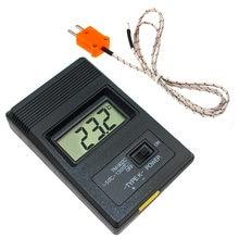 Thermomètre numérique LCD de Type K, entrée unique Pro, sonde de Thermocouple, détecteur de capteur, lecteur mètre TM 902C