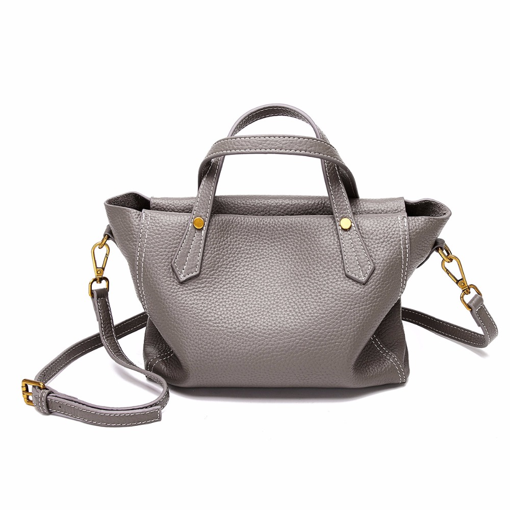 New Luxury Women Real Leather Handbags Vintage Handbag Women Casual Tote Bag Famous Brands Ladies Shoulder Crossbody Retro Bag 2017 new arrival designer women leather handbags vintage saddle bag real genuine leather bag for women brand tote bag with rivet