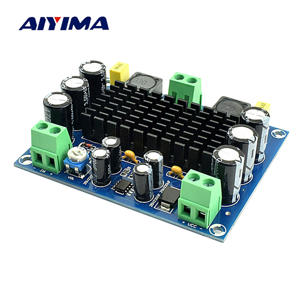 AIYIMA TPA3116D2 Power Mini Amplifiers Professional Board Amplificador Mono 150W Digital Audio Amplifier DC12-26V Home Theater