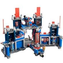 LEPIN Compatible 14006 Nexus Knights The Fortrex Castle Building Blocks 1166Pcs Bricks Super Large Size Toys For Children