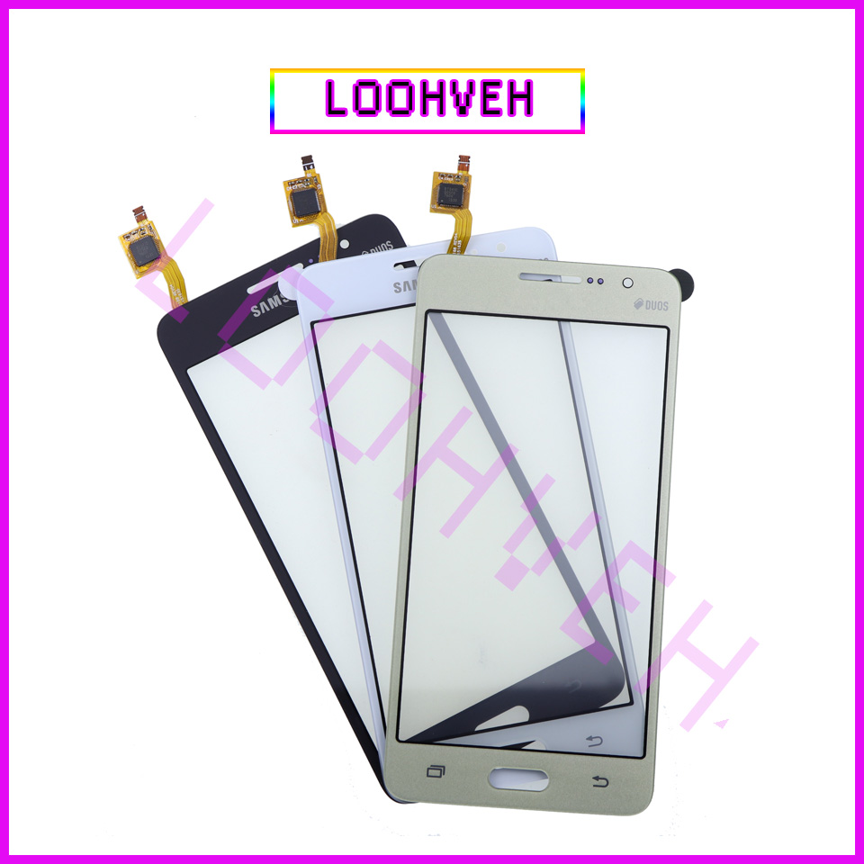 For Samsung Galaxy Grand Prime Duos G530 G530H G530F G5308 G531 G531H G531F Touch Screen Digitizer Front Glass Lens Sensor Panel