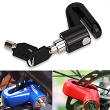 Bicycle Motorbike Motorcycle Brake Disc Lock Theft Protection Security Blue Waterproof Bike Motorcycle Lock Disc Brakes For Bike