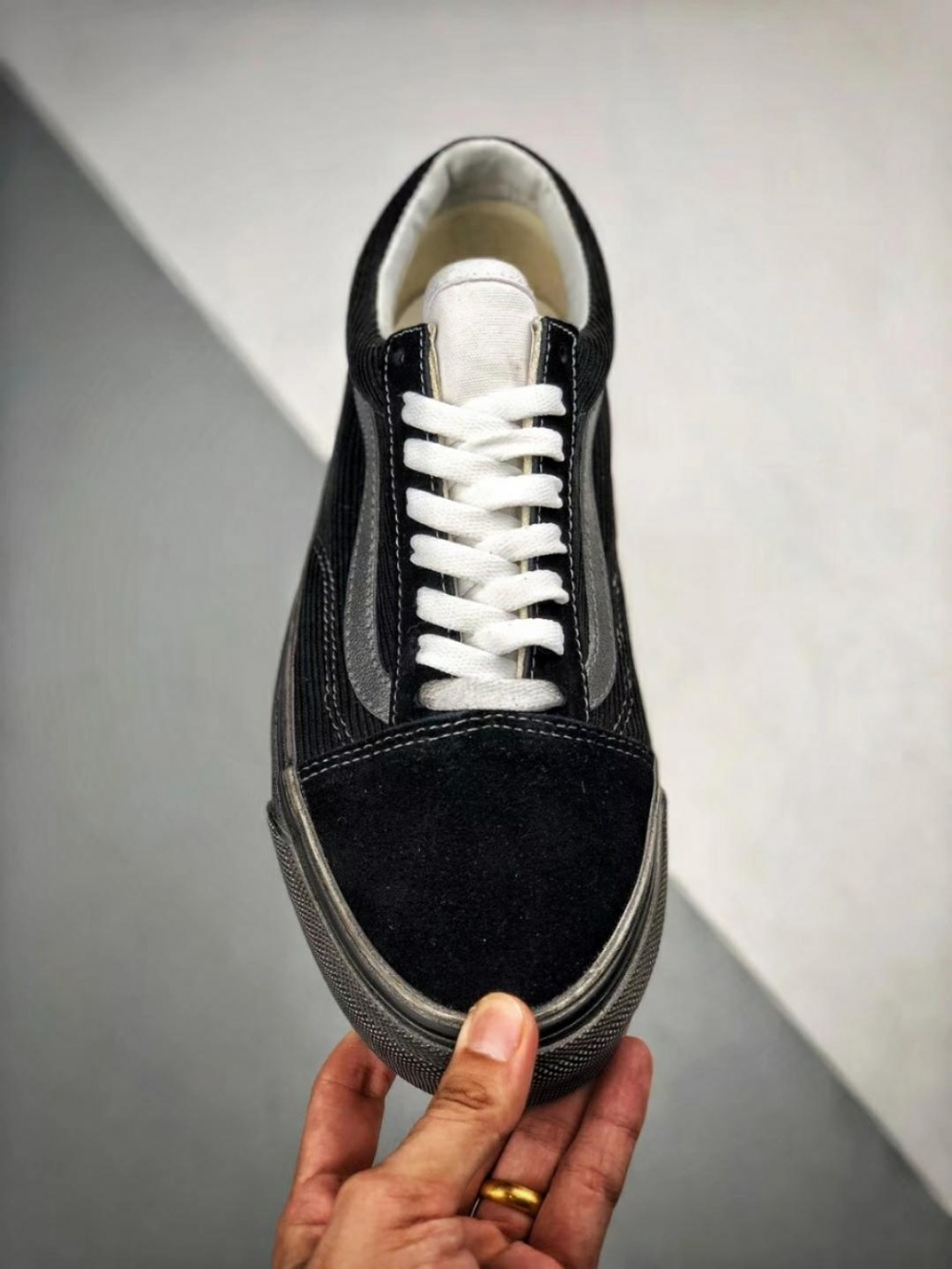 8be37c8ed6522a VANS Fear of God x Skateboard Shoes Men s Leisure Canvas Antique Sneakers  The do old Women s shoes size 36 44-in Weightlifting Shoes from Sports ...