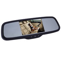 Free Shipping XM 55RV 5 Inch Universal Car Rear View Monitor 800 X 480 Digital Screen