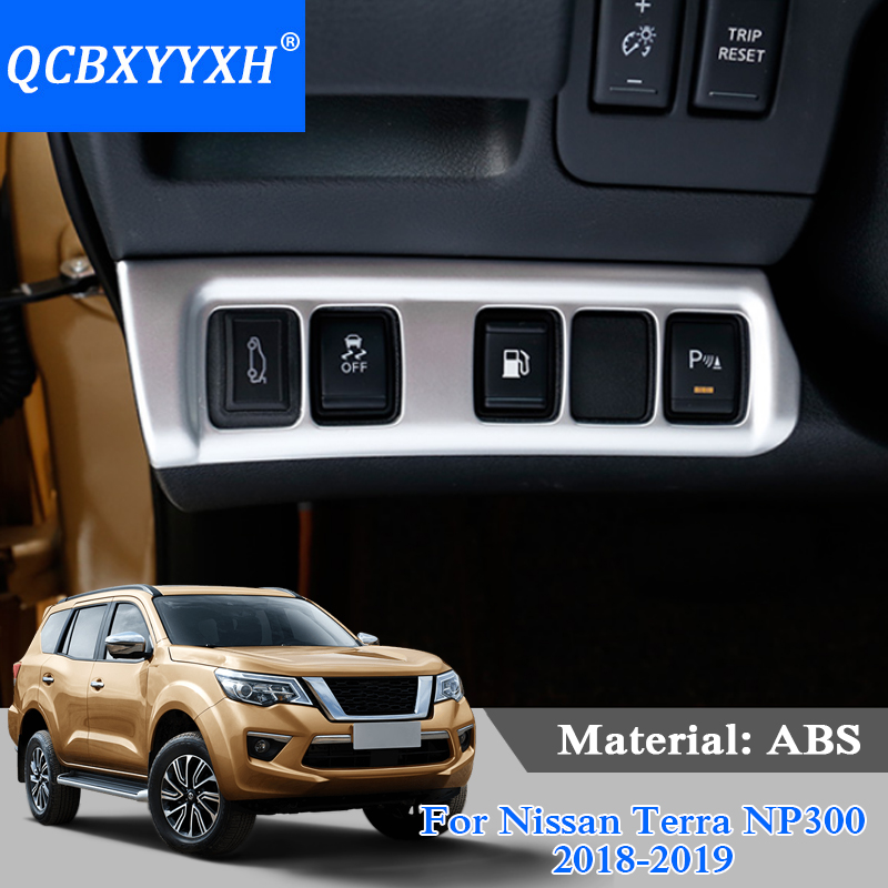 US $26 67 16% OFF|QCBXYYXH ABS Car Styling For Nissan Terra Navara NP300  2018 2019 Car Headlight Switch Frame Sequins Internal Decoration Covers-in