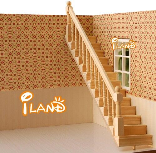 la escalera de madera del paso baranda izquierda baranda houseworks oachina mainland