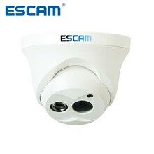 Escam cámara IP de visión nocturna Onvif OWL QD100, lente de 3,6mm, HD, 720P, H.264, 1/4 CMOS, P2P, minicámara de seguridad IR CCTV