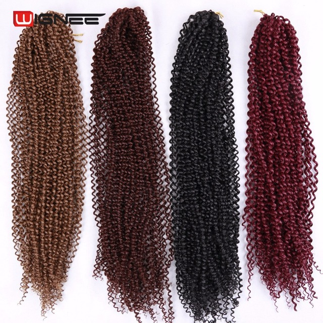Wignee High Temperature Synthetic Fiber Senegalese Twist Hair