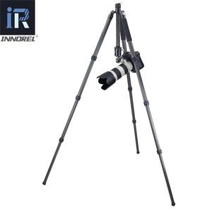 Image 5 - RT85C 전문 10 레이어 탄소 섬유 삼각대 monopod 다기능 디지털 DSLR 카메라에 대 한 볼 헤드 최대로드 25KG