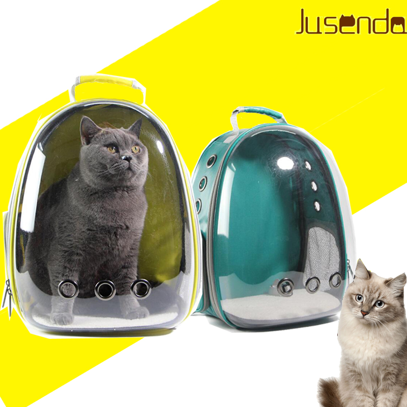 Cat carrying backpack Pet Cat Backpack  for Kitty Puppy Chihuahua Small Dog Carrier Crate Outdoor Travel Bag Cave for cat-in Carriers & Strollers from Home & Garden