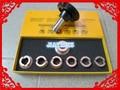 Caja de reloj Llave del Abrelatas 5537 Para Rlx 0 yster 7 Chuck Die 36.5mm Herramienta de Reparación de Relojes Tool Kit