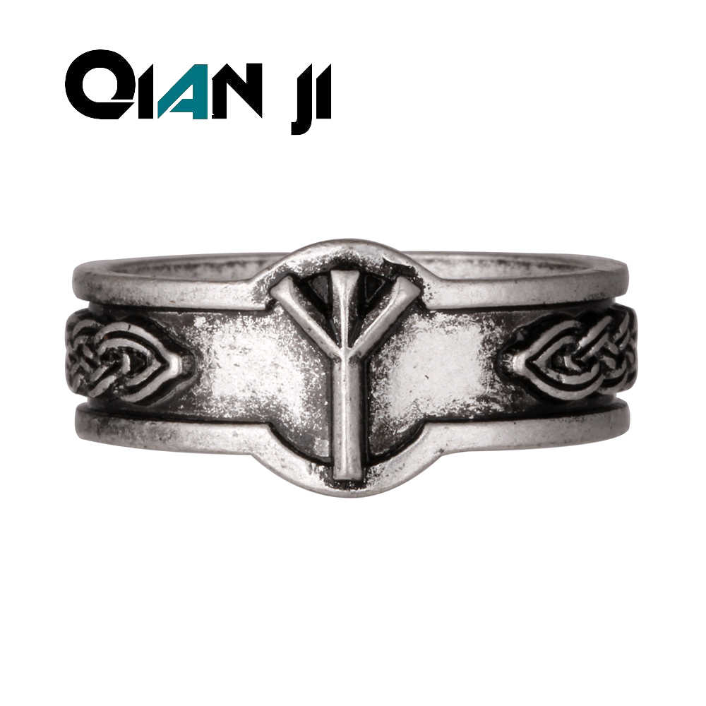 Nordic Alphabet  Viking Rune Rings  Nordic Alphabet Men Viking Ring Jewelry  Bset Friend Drop Shipping