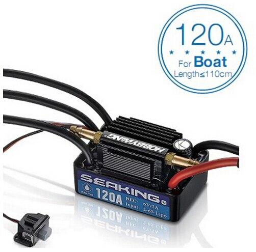F18582/3 hobbywing seaking v3 방수 120a/180a 2 6 s lipo 속도 컨트롤러 rc 레이싱 보트 용 6 v/5a bec 브러시리스 esc-에서부품 & 액세서리부터 완구 & 취미 의  그룹 1