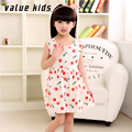 Value Kids dresses for girls dress summer children colthing frocks 11 year old girl teenage fashion dress for 10 years NQ-33