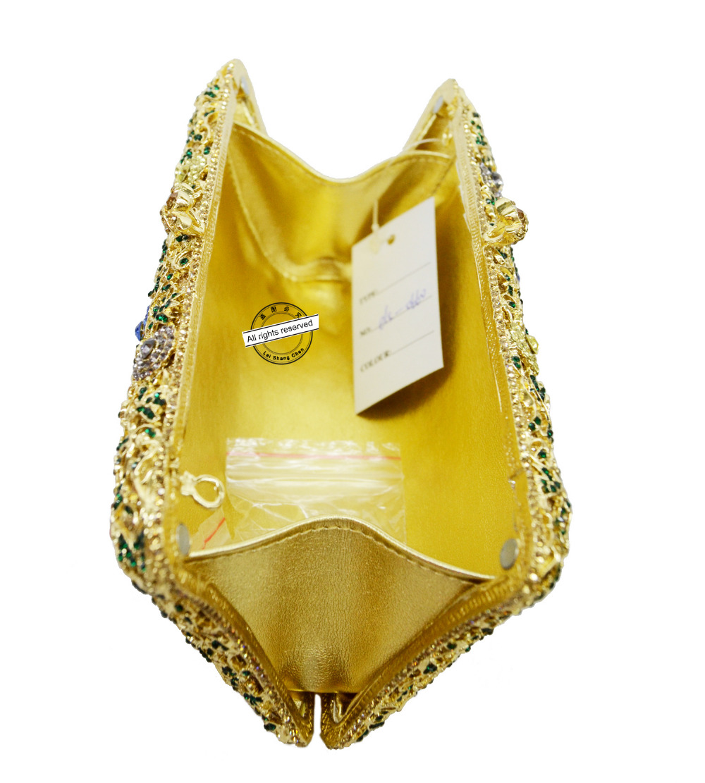 Blanco de plata de la boda matrimonio novia del monedero del embrague bolso de n