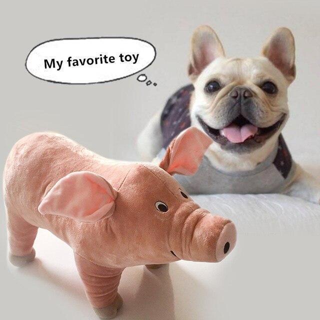 Cute Pig Plush Dog Toy  4