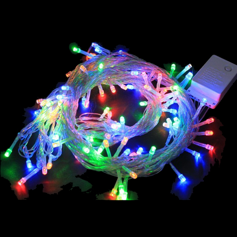 100m Led String Lights Wedding Party Decoration Outdoor Party Led string Warm White Lilac Blue Purple Birthday Christmas Decor