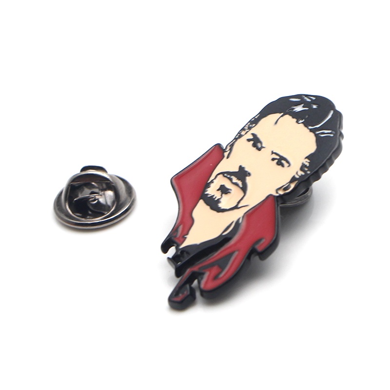 Doctor Strange cute fashion Zinc alloy tie pins badges para shirt bag clothes cap backpack shoes brooches for men or women E0379 in Badges from Home Garden