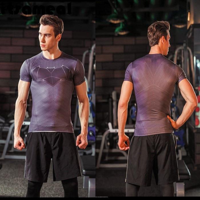 Batman VS Superman T-shirt Cool Novelty Men Dawn Justice Tee Superhero T-Shirts - ANHUI RUIQIQIAN TRADE CO,. LTD store