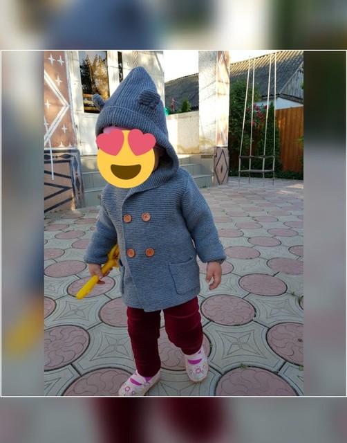 4dd77e6d4c4d Baby Warm Sweaters Boy Girl Cardigan Newborn Boys Winter Cartoon Bear Ear  Hooded Jackets Kids Casual