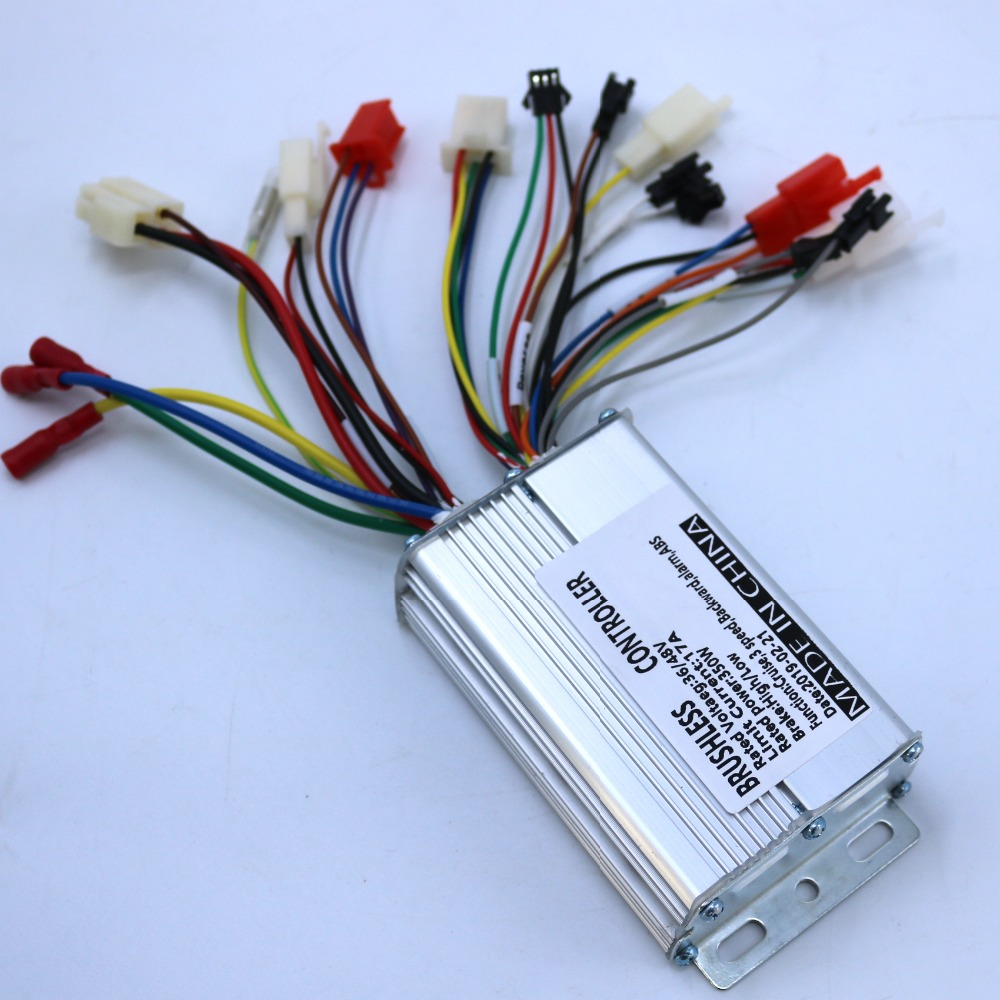 350W 36/48V 17A BLDC Motor Controller Electric Bike Tricycle Controller Driver