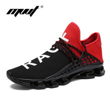 2016 design quality men running shoes Breathable mesh uppers men sport shoes outdoors 39 44