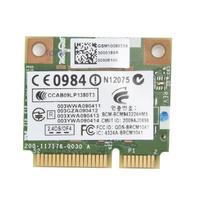 BroadCom BCM943224HMS BCM43224 Half MINI PCI E 5G 2 4G Wlan WIFI Wireless Card For HP