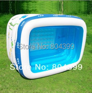 Buy eco friendly brand thickened pvc for Large size inflatable swimming pool