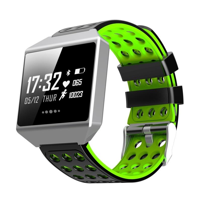 Smartch Smart Bracelet CK12 Touch Screen Band ECG Heart Rate Blood Pressure Sport IP67 Waterproof