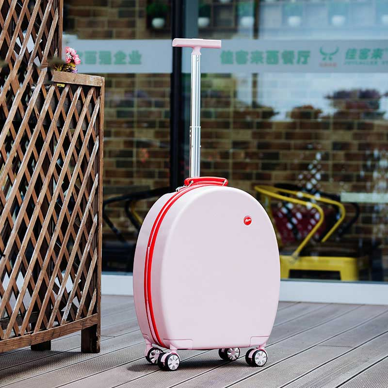LeTrend Modo Creativo Trolley Spinner Trolley 20 pollici Donne Cabina Valigia Ruote Della Password Borse Da Viaggio-in Bagaglio a mano da Valigie e borse su  Gruppo 2