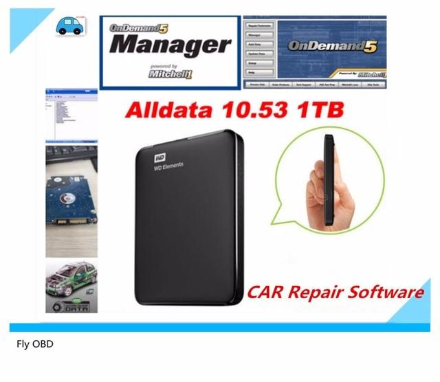 2017 neueste Auto Reparatur Alldata Software V10.53 software 2015 ...