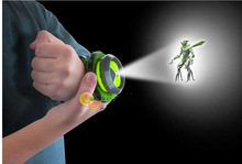 Hot Selling ben 10 omnitrix watch Style Kids Projector Watch Japan Genuine Ben 10 Watch Toy Ben10 Projector Medium Support Drop
