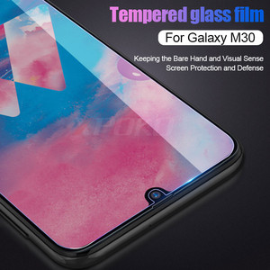 Image 4 - 3Pcs/lot Full Tempered Glass For Samsung A50 A30 A10 M30 M20 M10 Screen Protector Film For Galaxy A40 A70 A20E A80 A90 A60 Glass