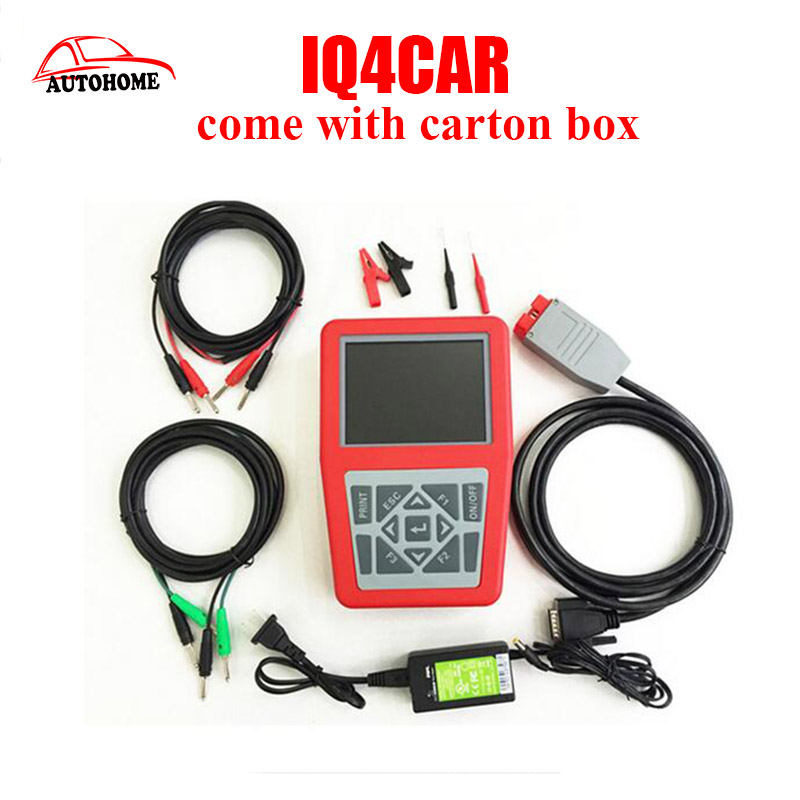 2016Top IQ4CAR Mega Macs 50 Code Scanner MEGAMACS-50 Cars Multifunction Diagnostic Tool with free DHL shipping