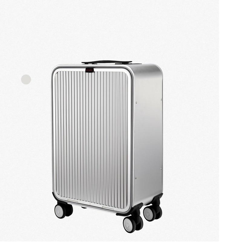 CARRYLOVE 20 24 inch aluminium suitcase TAS LOCK 100 spinner business trolley luggage bag on wheel