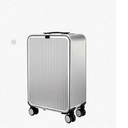 كاريلوف 20 24 بوصة الألومنيوم حقيبة تاس قفل 100% سبينر عربة أعمال حقيبة الأمتعة على عجلة القيادة
