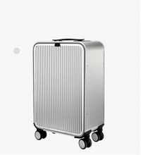"CARRYLOVE 20"" 24"" inch aluminium suitcase TAS LOCK 100% spinner business trolley luggage bag on wheel"