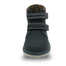 Leather Hook-and-loop Classic Martin Boots For Kids