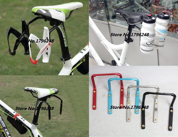 Buy 4 Colors Double Water Bicycle Bottle Holder