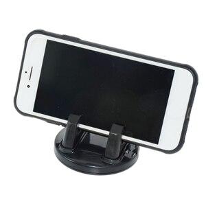 Image 4 - SRXTZM ozdoba samochodu uniwersalny uchwyt telefonu 360 stopni obrót PC + silikonowa dekoracja deski rozdzielczej na uchwyt na GPS telefon komórkowy 1 sztuk