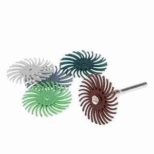 6Pcs Detail Abrasive Brush Mix