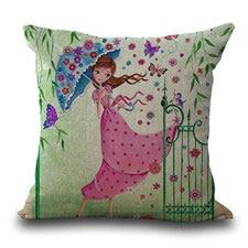 Maiyubo Ramadan Kareem Cushion Cover Islamic Muslim Ramadan Pillow Ramadan Lantern Decoration Polyester Pillow Cover