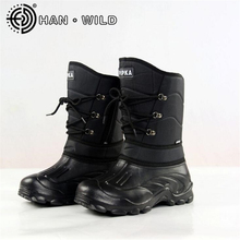 2017 Winter Snow Boots Men Fishing Boots Non-slip Waterproof Work Shoes Tooling Boots Men Warm Skiing Boots Outdoor Shoes
